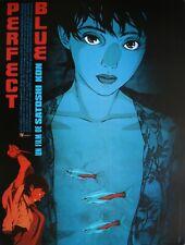 PERFECT BLUE Affiche Cinéma ROULEE 53x40 Movie Poster 1997 Manga Satoshi Kon