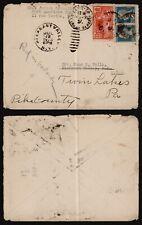 France 1924 - Cover Paris to USA E281