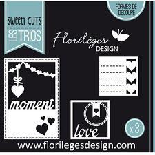 Florilèges Design formes de découpe POLA MOMENT scrapbooking dies page album