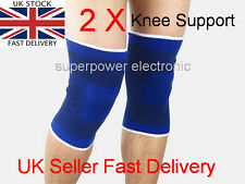 2 x Elastic Neoprene Knee Support Strap Protection Sport Running Injury Sprain