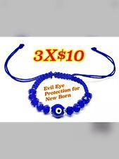 Newborn Bracelet  Evil Eye  Pulsera Para Bebe de Ojito Evil Eye Bracelet Pro