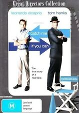 CATCH ME IF YOU CAN Great Directors Collection: Leonardo DiCaprio DVD NEW