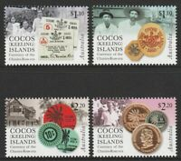 Cocos(keeling) Islands 2020 : Currency of the Clunies-Ross Era. Stamp Set. MNH