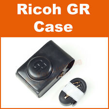 Synthetic Leather Case Bag for Ricoh GR II Camera - Black