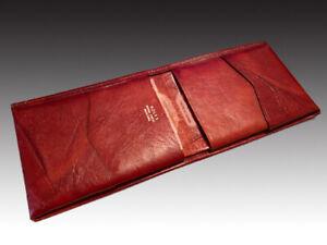 Rolfs Men's Royal Crest Mustang Billfold - Auburn Brown - Genuine Leather - NWT