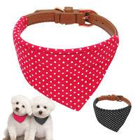 Cute Polka Dot Dog Bandana Collar Puppy Cat Pet Neckerchief Neck Scarf Tie