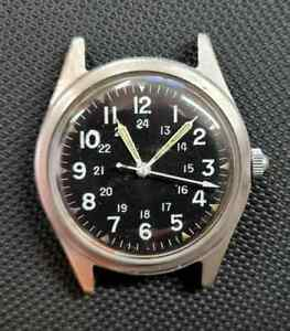 Benrus US military 1968 issue men's watch, Ref DTU-A/P MIL-W-38I8B