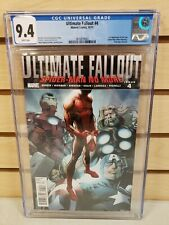 Ultimate Fallout #4 2011 MARVEL 1st Printing Appearance of Miles Morales CGC 9.4