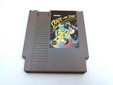 SKATE OR DIE Nintendo (NES) game cartridge Authentic Tested & Works