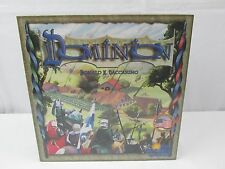 DOMINION Building Board Base GAME Donald Vaccarino FACTORY SEALED Rio Grande USA
