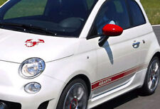 Fiat 500 Abarth decal set - with FREE Scorpion bonnet decal