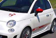 FIAT 500 ABARTH Decalcomania Set-con libero SCORPION cofano DECAL
