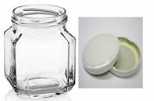 Set confezione da 20 vasetti vasi in vetro courmet  cc 314 completi di capsule