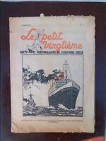 Tintin - Petit Vingtième n°11 du 18/03/1937 (Couv. Hergé) SUPERBE ETAT!!!