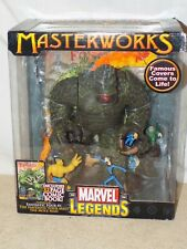 MASTERWORKS MARVEL LEGENDS FANTASTIC FOUR MEET THE MOLE MAN W/COMIC BOOK - NEW !