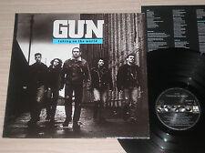 GUN - TAKING ON THE WORLD - LP 33 GIRI SPAIN