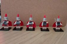 Minifigures lego 10 X Roman commander with base series 10 , Lego Compatible ,
