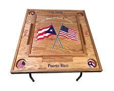 Puerto Rico & USA Domino Table
