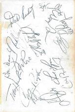 Two Sided Album Page 1985 Detroit Tigers Baltimore Orioles Cal Ripken Sr Jr COA