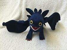 HOW TO TRAIN YOUR DRAGON Night Fury TOOTHLESS Arena Spectacular Stuffed Plush