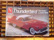 AMT/Ertl 1957 Ford Thunderbird Hardtop/Convertible #6516 1/25 Model Kit Sealed