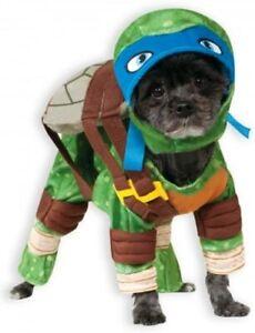 Leonardo Teenage Mutant Ninja Turtles Pet Dog  / Cat Costume by Rubies, Large