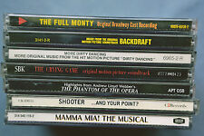 LOT 7 CD ALBUMS SHOW TUNES: FULLY MONTY, DIRTY DANCING, CRYING GAME, MAMMA MIA +