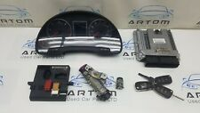 2005 AUDI A4 B7 2.0 TDI BRE AUTOMATIC ENGINE ECU KIT WITH KEY 03G906016JE