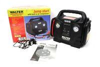 WALTER Autostartgerät Kompressor KFZ-Starthilfe 12V USB Powerbank Restgarantie