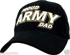 NEW U.S. Army. Proud Army Dad Cap. Black. 5792.