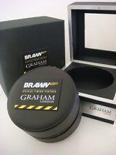 Genuine Original GRAHAM London - BRAWN GP watch box BRAND NEW