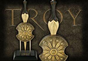Troy Miniature Letter Opener Achilles (Brad Pitt) Sword & Shield Gift Box Noble