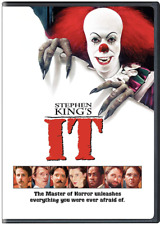 Stephen King's IT (DVD) • NEW • Halloween