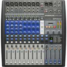 PreSonus StudioLive AR12 USB 14-Channel Hybrid Performance & Recording Mixer New