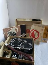 Paillard Bolex B8 8mm Cine Camera Swiss MadeYvar 12.5cm and kaligar 6.5mm