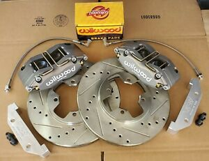 Datsun 510 280ZX New FRONT Disc Brake 4 Piston Wilwood Complete Kit 79-83