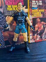 """WWE - Wrestler Ken Shamrock 7"""" Titan Tron Live Wrestling Figure 1999 WWE WWF WCW"""