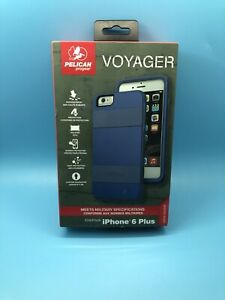 Pelican Voyager For iPhone 6 Plus 6s Plus(5.5) Rugged Case with Holster  Blue