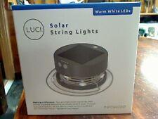 NEW Luci Solar String Lights Warm White LED