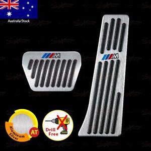 AUTO M Performance Gas Fuel Brake Pedals for 1 2 3 4 5 6 7 8 X Z Ser NON-DRILL
