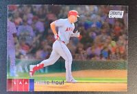 2020 Topps Stadium Club CHROME Baseball MIKE TROUT Los Angeles Angels #1