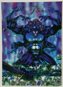 Venom The Madness 1994 Flair Fleer Marvel Annual Trading Card #130 Mint.