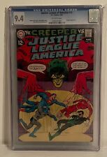 JUSTICE LEAGUE OF AMERICA #70 - CGC 9.4 - CREEPER APPEARS