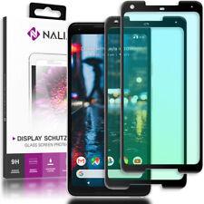 NALIA 2x Schutz Glas für Google Pixel 2 XL, Display Folie Panzer Hartglas Echt