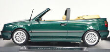 VW Golf III Cabriolet Year 1995 Green Metallic Scale 1:18 from Norev