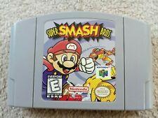 SUPER SMASH BROS N64 USA NTSC CART