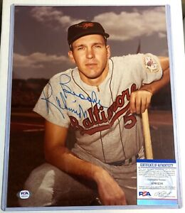 BROOKS ROBINSON SIGNED 11X14 PHOTO PSA/DNA COA ORIOLES AUTO AUTOGRAPH PICTURE