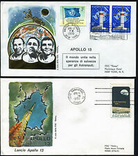 1970 - Apollo 13 - Due Buste commemorative