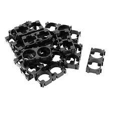 20x 18650 Lithium Battery Double Holder Bracket for DIY Cell Pack Black V X1o5