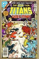 New Teen Titans #12-1981 vf/nm 9.0 George Perez Marv Wolfman